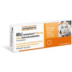 IBU RATIOPHARM 200MG AKUT